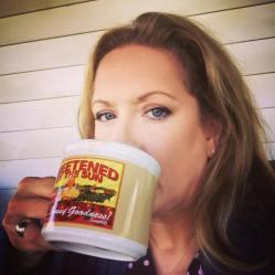 Vanessa Drinking Coffee